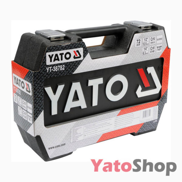 Набір інструментів YATO 72 предметів YT-38782 Київ