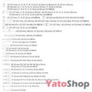 Набір інструментів Yato 128 предметів YT-38872 купити