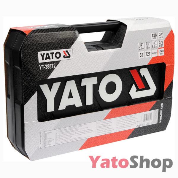 Набір інструментів Yato 128 предметів YT-38872 ціна