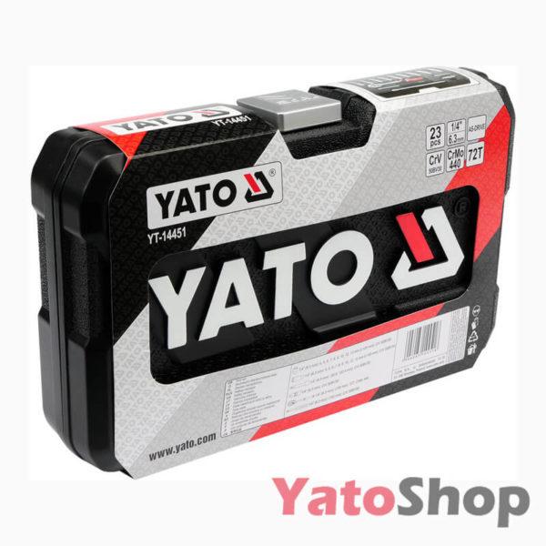 Набір торцевих головок YATO 23 предмети YT-14451 Львів