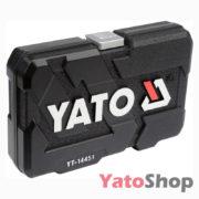 Набір торцевих головок YATO 23 предмети YT-14451 Рівне