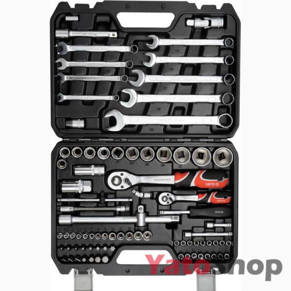 Набір інструментів 12, 82 предмети Yato YT-12691
