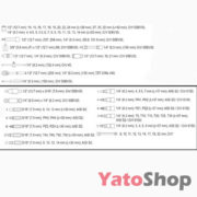 Набір інструментів 12, 82 предмети Yato YT-12691 купити