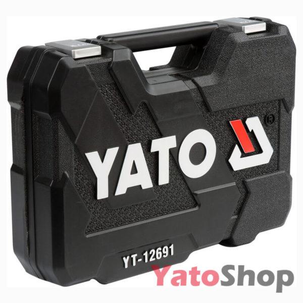 Набір інструментів 12, 82 предмети Yato YT-12691 опис
