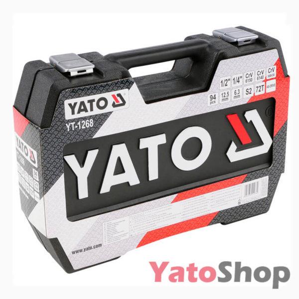 Набір інструментів 94 предмети Yato YT-1268 Купити