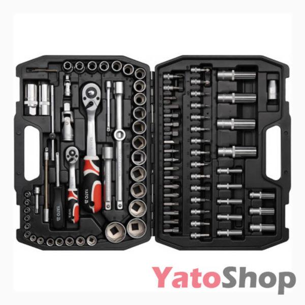 Набір інструментів 94 предмети Yato YT-1268 фото