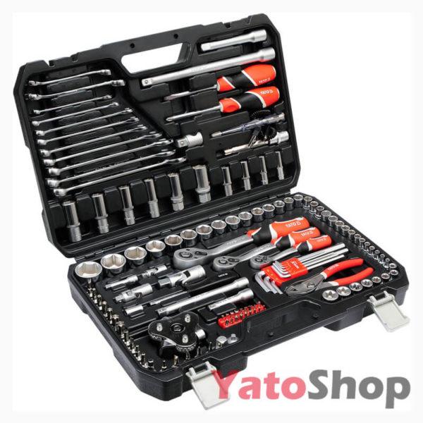 Набір інструментів YATO 126 предметів YT-38875