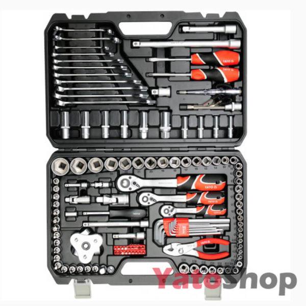 Набір інструментів YATO 126 предметів YT-38875 фото