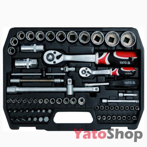 Набір інструментів YATO 82 предмети YT-1269