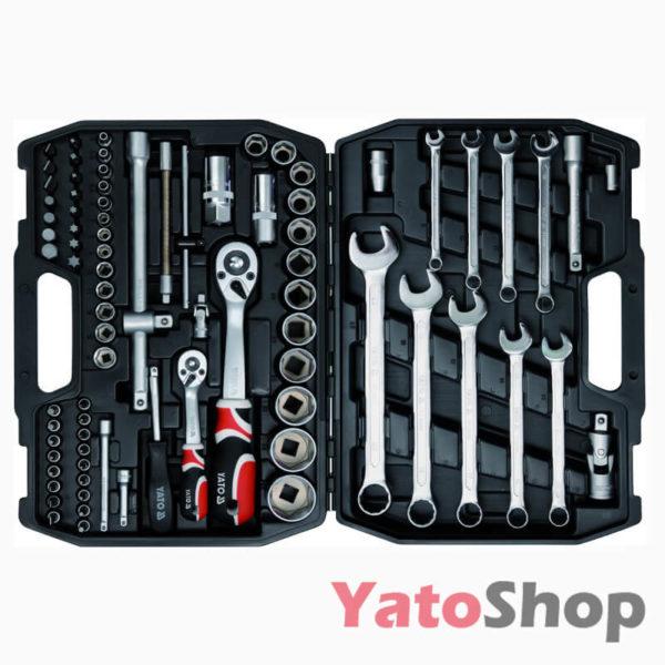 Набір інструментів YATO 82 предмети YT-1269 фото
