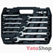 Набір інструментів YATO 82 предмети YT-1269 ціна
