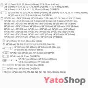 Набір інструменту 12 , 38, 14 4-32мм Yato YT-38811 купити
