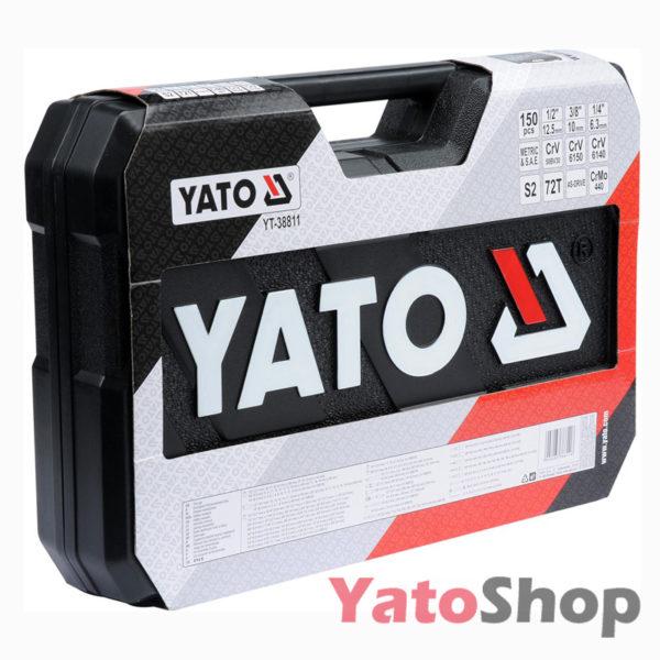 Набір інструменту 12 , 38, 14 4-32мм Yato YT-38811 ціна