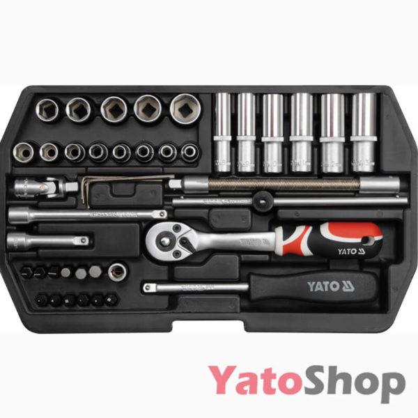 Набір інструменту 42 предмети YATO YT-1448