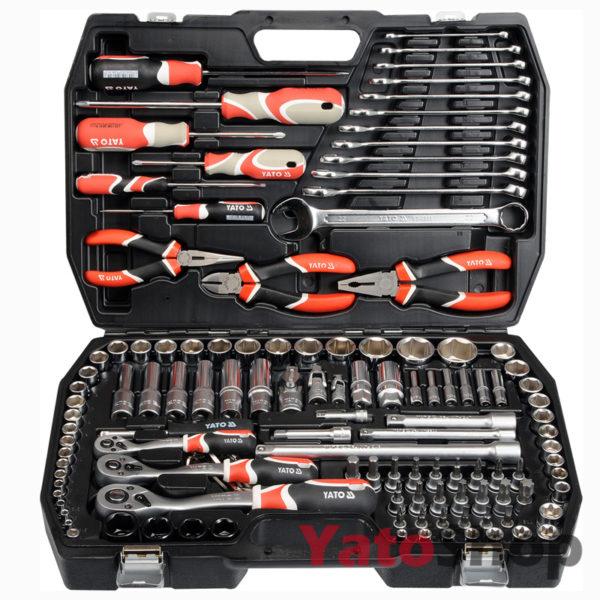 Набір накидних ключів Ято 129 предметів YT-3888