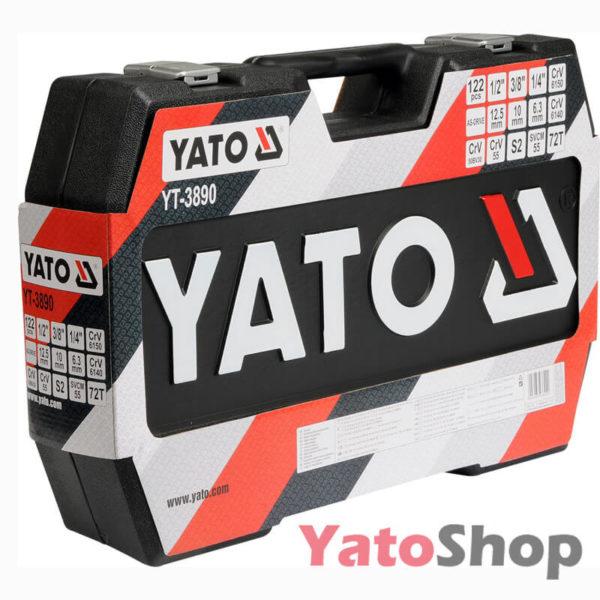 Набір ручного інструменту Yato YT-3890 122 предмети Львів