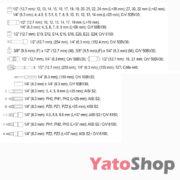 Набір ручного інструменту Yato YT-38901 129 предмети ціна