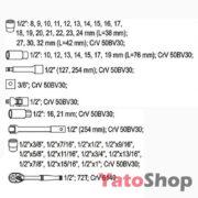 Набір торцевих головок Yato 46 предметів YT-3877 Купити