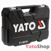 Набір торцевих головок Yato 77 предметів L YT-38781 ціна