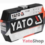 Набір торцевих головок і насадок з тріщеткою 14 4-13мм Yato YT -1450