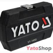 Набір торцевих головок і насадок з тріскачкою 14 4-13мм Yato YT -1450 купити