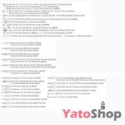 Набір торцевих головок з тріскачкою 215 предметів YT-3884 Львів
