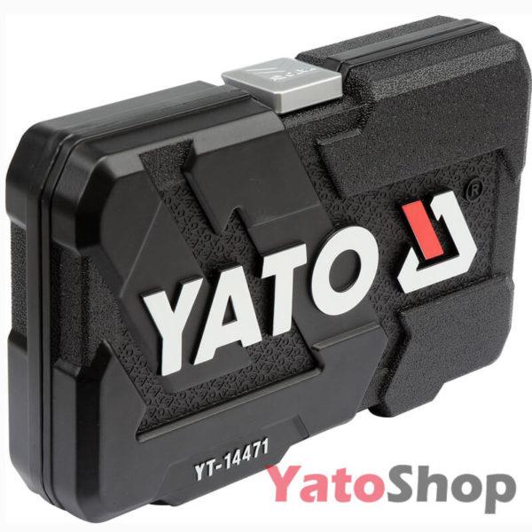 Набір з 38 маленьких торцевих головок і насадок 14 Yato YT-14471 купити