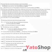 Професійний набір інструментів Yato 120 пр YT-38801 ціна