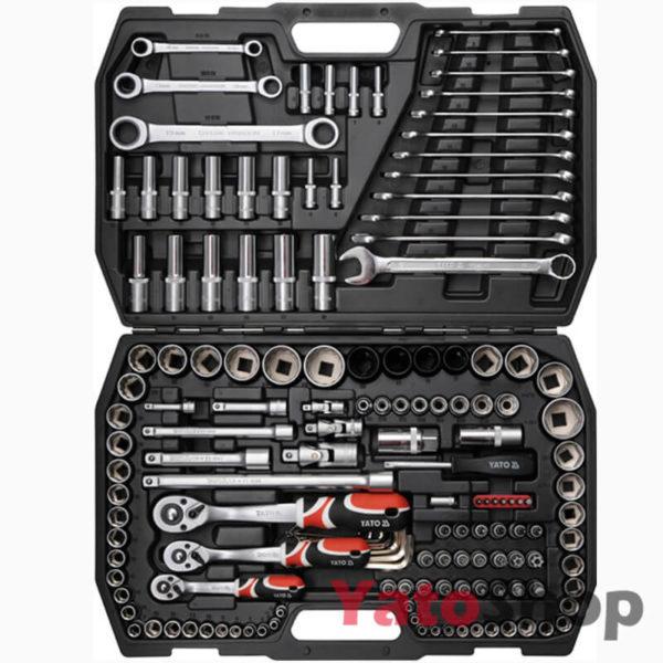 Універсальний набір інструментів 14 , 38, 12 4-32мм Yato YT-3881