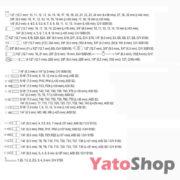 Універсальний набір інструментів Yato YT-38931 173 предмети купити