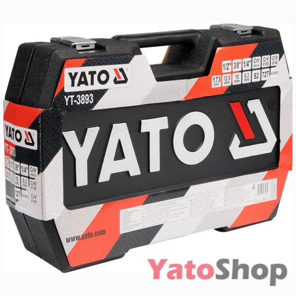 Універсальний набір інструментів Yato YT-38931 179 предмети ціна