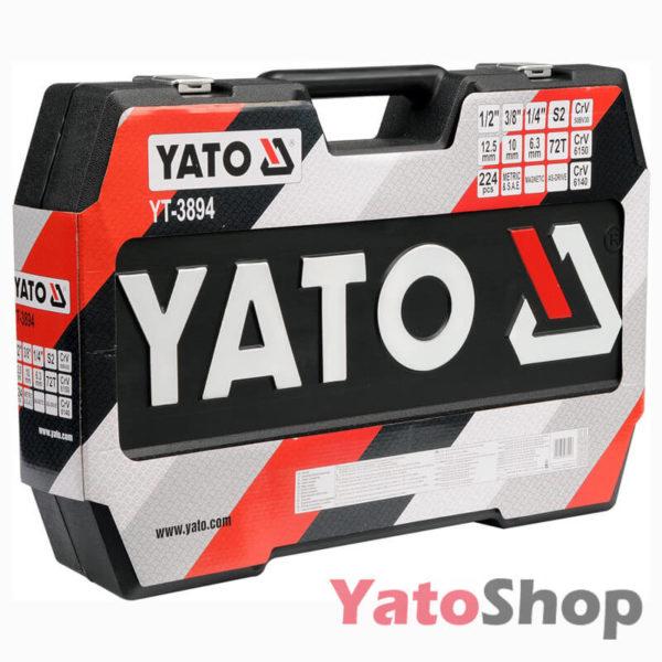 Універсальний набір інструментів Yato YT-3894 224 предмети фото