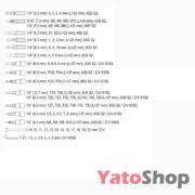 Універсальний набір інструменту 216 предметів Yato YT-38841