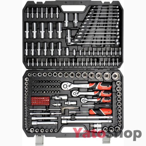 Універсальний набір інструменту у валізі 216 предметів YT-38841