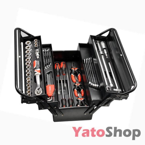 Ящик з інструментами Yato 62 предмета YT-3895