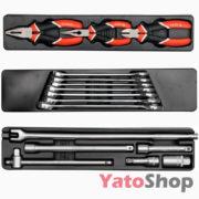 Ящик з інструментами Yato 62 предмета YT-3895 Купити