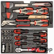 Ящик з набором інструментів Yato 80 предметів YT-38951 фото