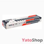Набір торцевих глибоких головок Yato 10-32мм YT-1055