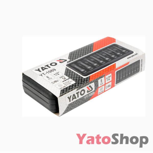 Набір ударних біт SPLINE 8 предметів Yato YT-1069 Рівне