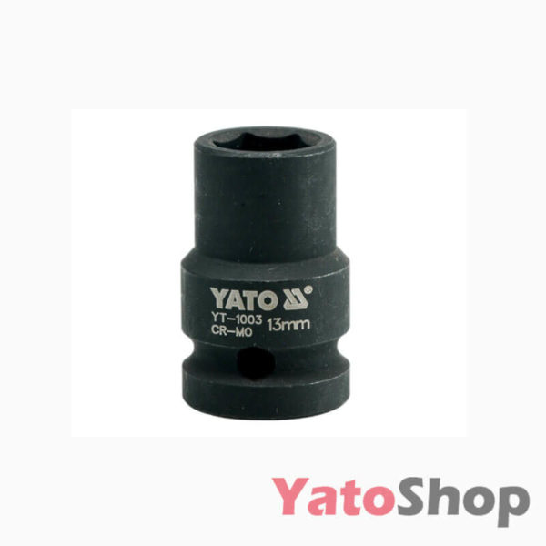 Торцева, ударна, шестигранна головка 13 мм Yato YT-1003