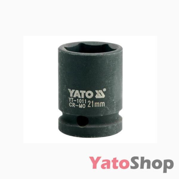 Торцева, ударна, шестигранна головка 21 мм Yato YT-1011