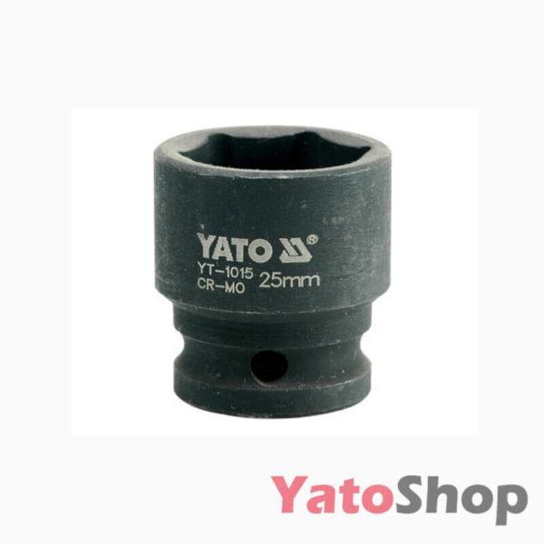 Торцева, ударна, шестигранна головка 25 мм Yato YT-1015