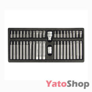 Біти TORX SECURITY & RIBE 42 штуки YT-0420