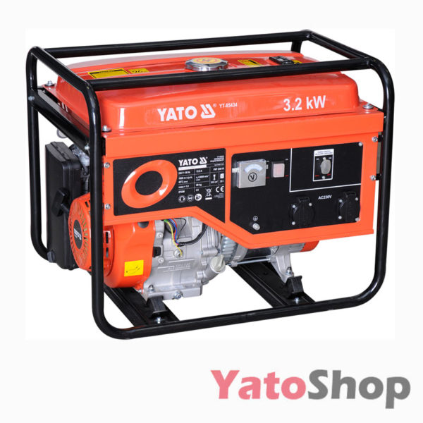 Генератор бензиновий 3200 Ват Yato YT-85434