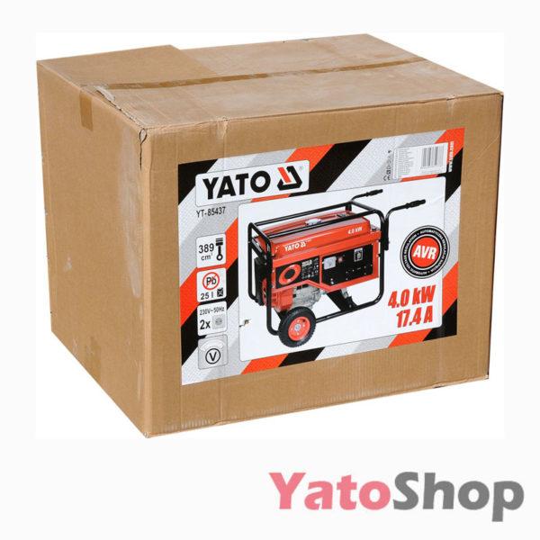 Генератор бензиновий 4000 Ват Yato YT-85437 Львів