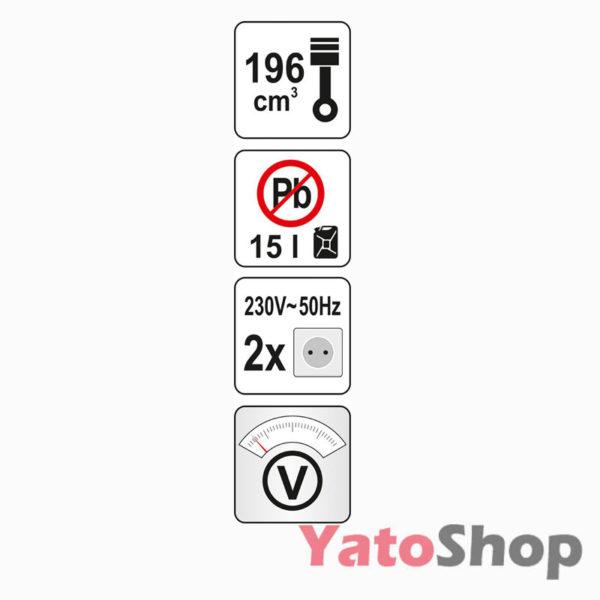 Генератор бензиновий Yato YT-85432 ціна