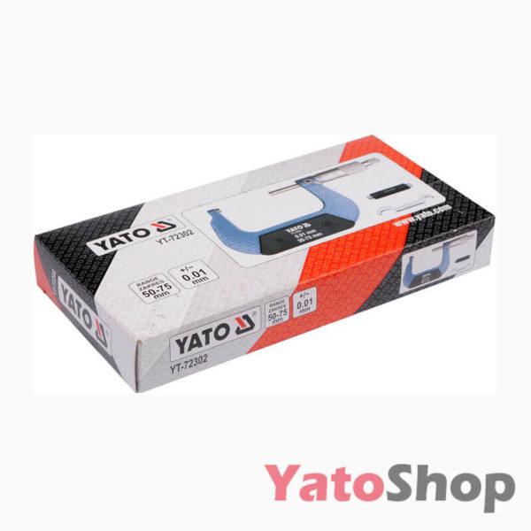 Мікрометр 50-75мм YT-72302 Луцьк