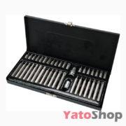 Набір спеціальних біт в металевому боксі 40 шт YT-0400 Yato