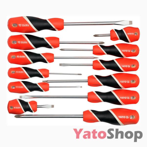 Набір викруток 12 предметів YT-25967