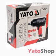 Пневматичний гайковерт 1630 Нм Yato YT-09571 купити